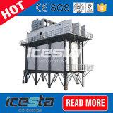 Máquina de gelo refrigerando concreta industrial do floco de SUS304 380V