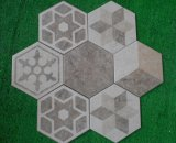 Het gezonde Suikergoed van 200*230mm verglaasde Hexagon Tegel