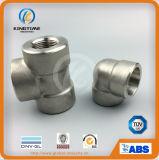 Cotovelo forjado de 90 interruptores do aço inoxidável do cotovelo do grau (KT0531)