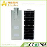 20W 밝은 초록색 주차등 5 년 보장 LiFePO4 건전지 통합 태양 거리