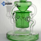 Recicl a tubulação de água do vidro verde da plataforma petrolífera (por 004)