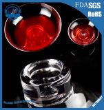 アイスクリームのガラス・ボールのクリスタルグラスのサラダボール