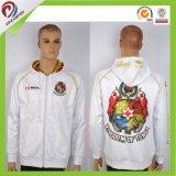 習慣によって子供の人の白い方法Hoodyの昇華させるジャケット