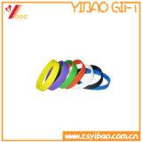 Bracelet fait sur commande de silicones de sport de couleur