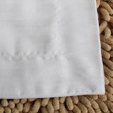 Cassa del cuscino della striscia del raso/coperchio molli eccellenti bianchi (WSPC-2016007)