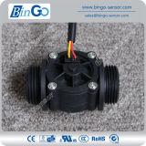 G1 '' détecteur en plastique d'écoulement d'eau du taux 1-60L/Min, sonde de débit de prix bas pour l'eau potable