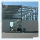 Q235 Q345中国のプレハブの軽い鋼鉄研修会フレームの構造