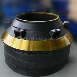 Usure de broyeur de cône et pièces de rechange pour Telsmith/Terex