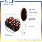 Certificación de RoHS del Ce y enderezadora del cepillo de pelo de la visualización del LCD