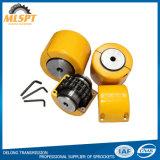 Accoppiamento Chain del rullo della ruota dentata con la cassa gialla
