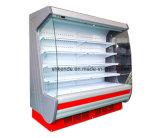 Refrigerador de Surpermarket para o indicador do vegetal e da fruta