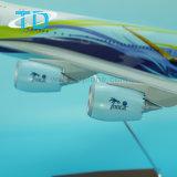 Самолет смолаы 1:100 73cm маштаба B747-8 модельный для сбывания