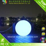 Buen precio impermeable magia LED luz de la bola al aire libre