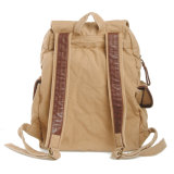 Beige Farben-Schule-Laptop sackt Modedesigner-Rucksack ein (RS-2546)