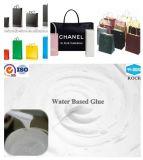 Pegamento de acrílico de la base del agua del producto de la película de BOPP para los rectángulos de papel que sellan la cinta