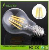 Ampola do diodo emissor de luz do branco frio de A60 2W-8W para a economia de energia