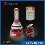 Phare 4WD de lumière de véhicule de la lampe H4 H7 d'accessoire automatique de C6 DEL