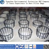 Cage chaude personnalisée de filtre de la poussière de vente pour des sacs de filtration de la poussière