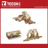 Tecon 고품질 영국 작풍 건축 비계 하락은 두 배 연결기를 위조했다