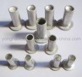 remaches del aluminio del sólido de 6X22m m para el uso de la guarnición de freno