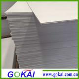 Feuille légère de mousse de PVC du blanc 1mm pour l'impression