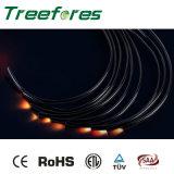 Câble fibre optique de lueur de fin pour l'étoile de plafond
