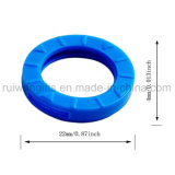 多彩な円形のプラスチック主帽子、主保護リング、PVC伸縮性がある主帽子