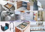 De moderne Eenvoudige Ontwerpen van de Keuken van de Lak Keukenkasten Aangepaste