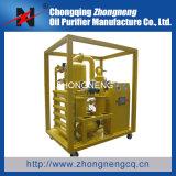 고객 호의를 보인 두 배 단계 진공에 의하여 사용되는 기름 정화기 또는 기름 정화 기계