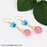 92505 Fashion Cute Candy Brinco de jóias de cor para mulheres
