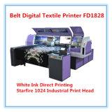 多色刷りファブリックデジタル織物の印字機Fd1828に指示しなさい