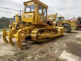 Verwendete Gleisketten-Planierraupe des Gleiskettenfahrzeug-D6d (Bulldozer CAT-D5 D6G D7G D8K)