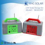 Whc 6V 10W 재충전용 LED 태양 에너지 장비