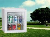 Refrigerador Desktop da absorção do refrigerador 28L do dispositivo de cozinha do hotel mini com porta de vidro