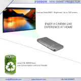Video Projectorandroid 5.1 OS LED-intelligent mit 8-Inch Touch Screen, Wi-FI Bluetooth Kopfhörer