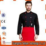 Modèle uniforme de vêtements de travail de modèle et de chef de cuisinier professionnel de restaurant