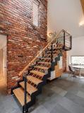 Diseño de la escalera/derecho escalera de acero de madera