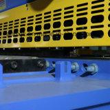 QC11k - 6 x 3200せん断の金属板の鋼板は変形によって統合される油圧ギロチンの打抜き機を減らす
