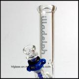 10 pulgadas de tubo del vidrio de agua del tubo de Borosilicate recto de Waterpipes Illadelph