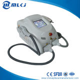 Bewegliche Haar-Abbau-Maschine mit 2 Griffe Shr Q-Schalter Nd YAG Laser