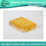 衛生学の等級のSGS (FN-059)が付いているおむつの原料のための付着力の熱い溶解の接着剤