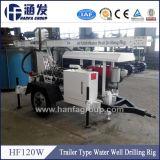 Schlussteil-hydraulische bewegliche Wasser-Vertiefungs-Ölplattform der hohen Leistungsfähigkeits-Hf120W