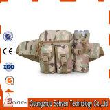 Bolso táctico al aire libre de la cintura del hombro del ejército pequeño impermeable