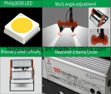 모듈 디자인 빨강과 까만 IP65 50W LED 램프 갱도 빛