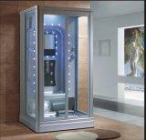 Sauna пара прямоугольника 1000mm серый с ливнем для одиночных людей (AT-0220-1)