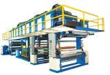 Unidade vertical do tratamento 3-Edition de superfície da placa da agulha (fornalha de 18m), máquina de couro sintética do tratamento de superfície