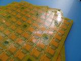 Fuente de la tarjeta del PWB del prototipo del oro de la inmersión con amarillo en tarjeta del PLC