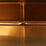 Коробка Tinplate треугольника типа шаржа/олово металла для Candy&Sweet (T003-V7)