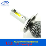 Aleación de aluminio toda en una lámpara principal 6000k de la linterna H4 H/L LED de la MAZORCA C6 LED de 36W 3800lm