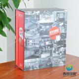 Коробка люкс бумажного печатание упаковывая с ЕВА для брошюр